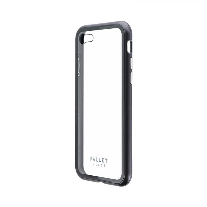 ガラスハイブリッドケース「PALLET GLASS」 クリアスペースグレー iPhone SE 第2世代【5月下旬】_0