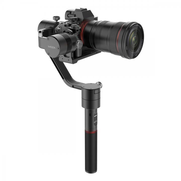 一眼レフカメラ対応、ハンドヘルドジンバル3軸スタビライザー MOZA Air_0