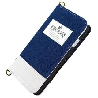 【iPhone8/7ケース】RODEO CROWNS TAG 手帳型ケース インディゴブルー iPhone 8/7_1