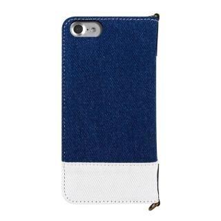 【iPhone8/7ケース】RODEO CROWNS TAG 手帳型ケース インディゴブルー iPhone 8/7_3
