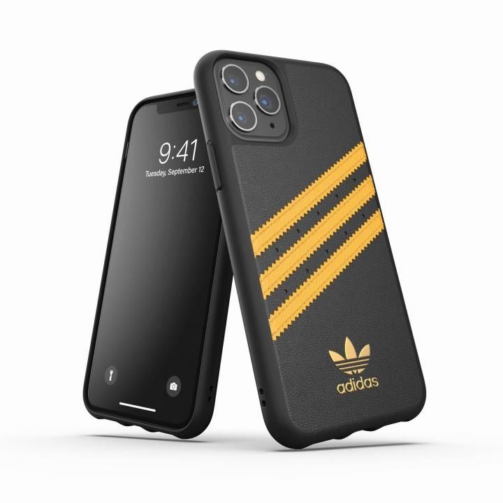iPhone 11 Pro ケース adidas Originals Moulded Case SAMBA SS20 Black/Gold iPhone 11 Pro_0