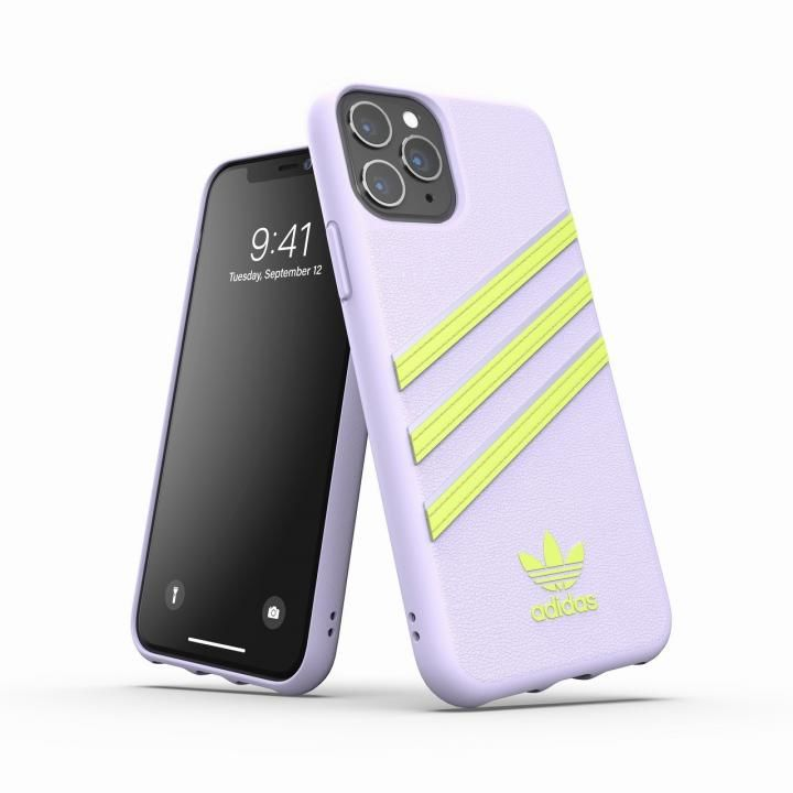 iPhone 11 Pro ケース adidas Originals Moulded Case SAMBA SS20 Tint/Yellow iPhone 11 Pro_0