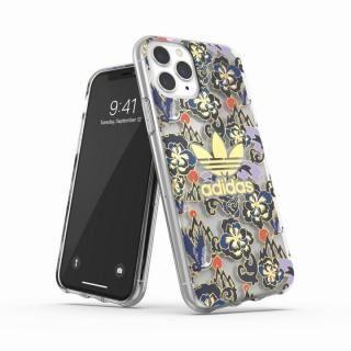 iPhone 11 Pro ケース adidas Originals Clear Case CNY AOP Blue/Gold iPhone 11 Pro