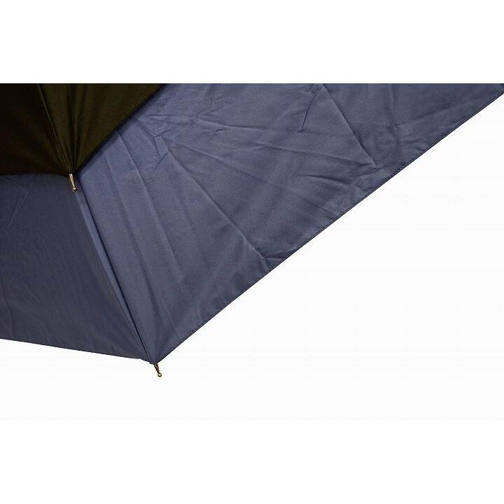 世界初新機構 耐風&遮熱 トランスフォーム晴雨兼用傘 ネイビー_0