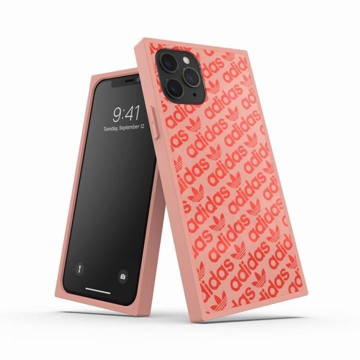iPhone 11 Pro ケース adidas Originals SQUARE CASE Ash pearl/Coral iPhone 11 Pro_0