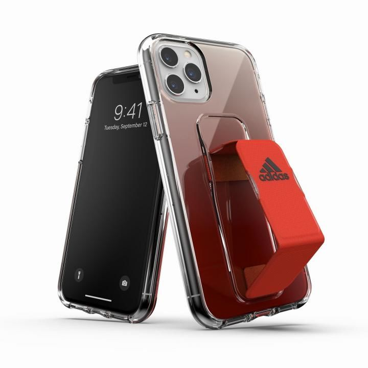 iPhone 11 Pro ケース SP - Clear Grip Case SS20 Solar Red iPhone 11 Pro_0