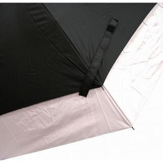 世界初新機構 耐風&遮熱 トランスフォーム晴雨兼用傘 ピンク