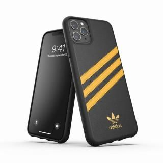 iPhone 11 Pro Max ケース adidas Originals Moulded Case SAMBA SS20 Black/Gold iPhone 11 Pro Max