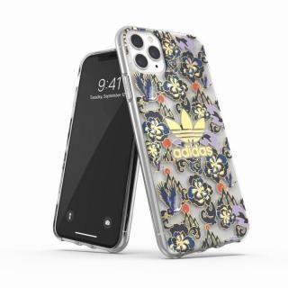 iPhone 11 Pro Max ケース adidas Originals Clear Case CNY AOP Blue/Gold iPhone 11 Pro Max