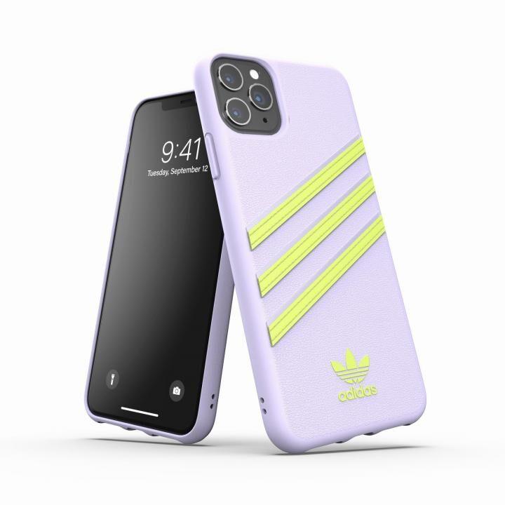 iPhone 11 Pro Max ケース adidas Originals Moulded Case SAMBA SS20 Tint/Yellow iPhone 11 Pro Max_0