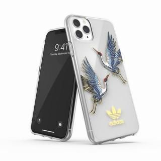 iPhone 11 Pro Max ケース adidas Originals Clear Case CNY Blue/Gold iPhone 11 Pro Max