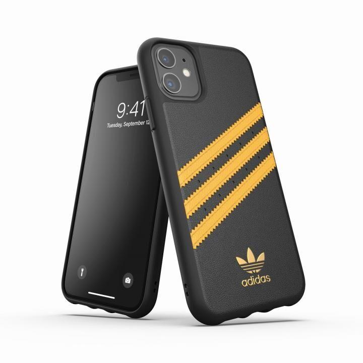 iPhone 11 ケース adidas Originals Moulded Case SAMBA SS20 Black/Gold iPhone 11_0