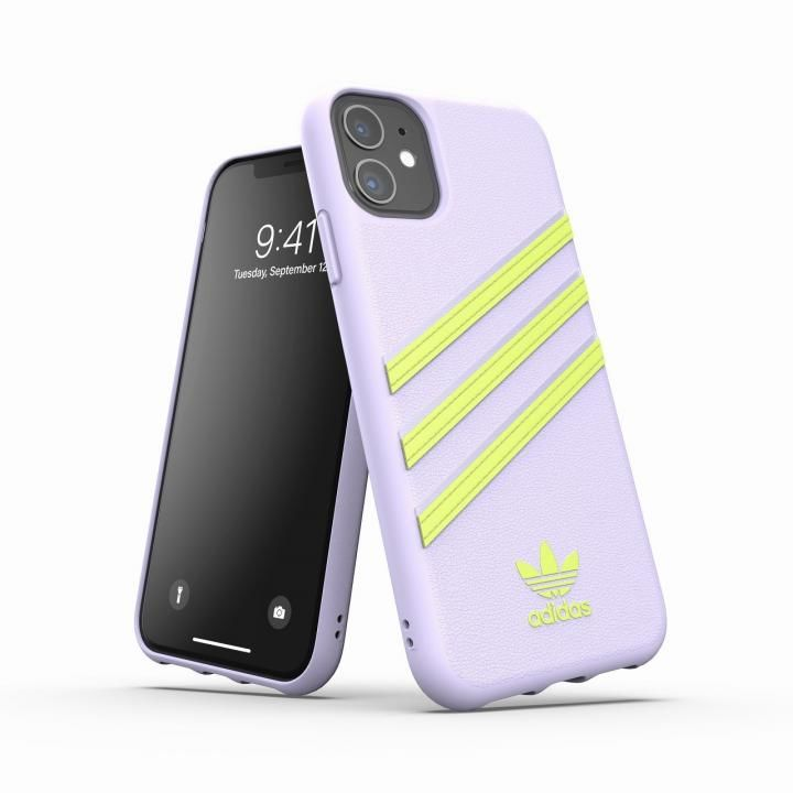 iPhone 11 ケース adidas Originals Moulded Case SAMBA SS20 Tint/Yellow iPhone 11_0