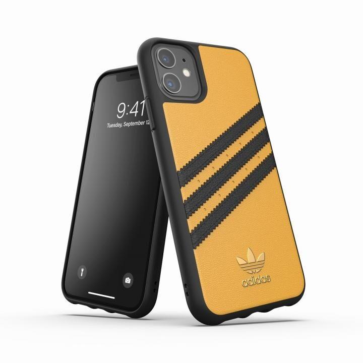 iPhone 11 ケース adidas Originals Moulded Case SAMBA SS20 Gold/Black iPhone 11_0