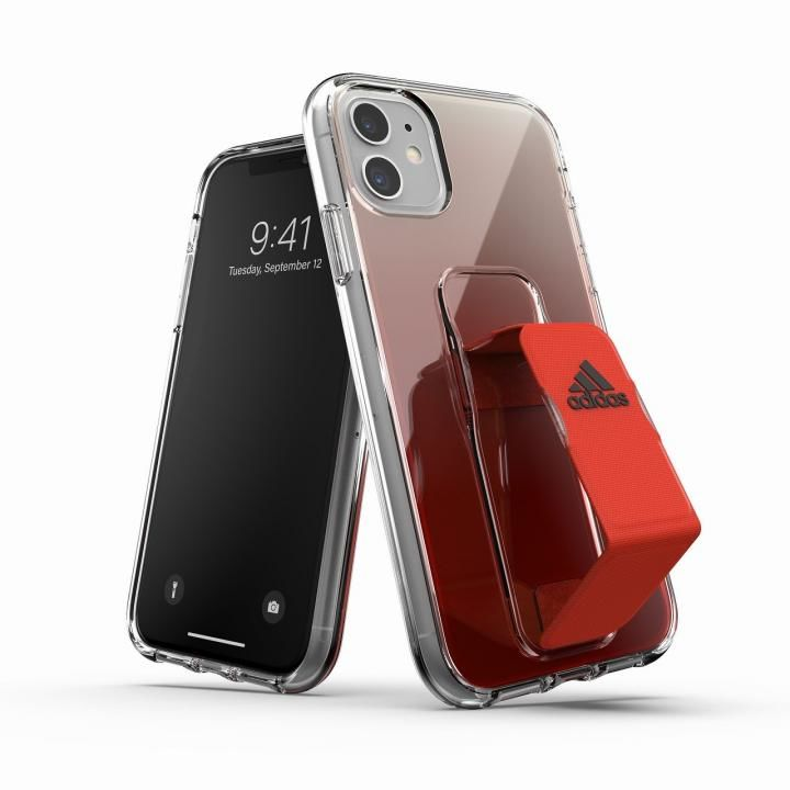 iPhone 11 ケース adidas Clear Grip Case SS20 Solar Red iPhone 11_0