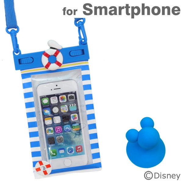 iPhone6/SE/5s/5 ケース ディズニー スマートフォン用防水ソフトケース ドナルド iPhone Android_0