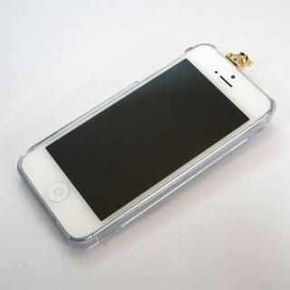 【iPhone SE/5s/5ケース】誕生石を持った クマケース バースディベアー ゴールド1月 iPhone SE/5s/5ケース_3