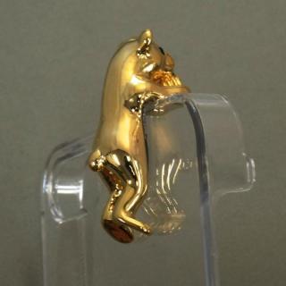 【iPhone SE/5s/5ケース】誕生石を持った クマケース バースディベアー ゴールド1月 iPhone SE/5s/5ケース_5