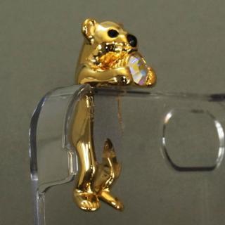 【iPhone SE/5s/5ケース】誕生石を持った クマケース バースディベアー ゴールド1月 iPhone SE/5s/5ケース_6