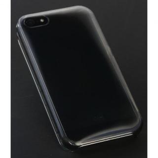 【iPhone SE/5s/5ケース】丸みのあるiPhoneに変身 OZ-1 Dual Structure クリアブラック iPhone SE/5s/5ケース