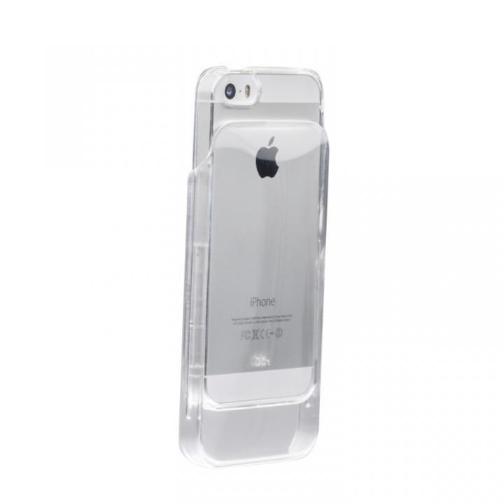 丸みのあるiPhoneに変身 OZ-1 Dual Structure クリア iPhone SE/5s/5ケース
