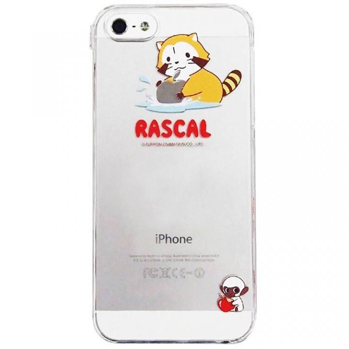 iPhone SE/5s/5 ケース プチ世界名作劇場 ラスカル クリア iPhone SE/5s/5ケース_0