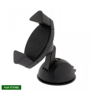 NAVITIME スマートフォンホルダー CKT-01B ブラック