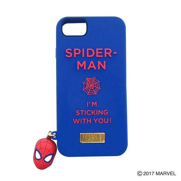 YOOY シリコンケース/シリコンチャーム SPIDER-MAN iPhone 7/6s/6
