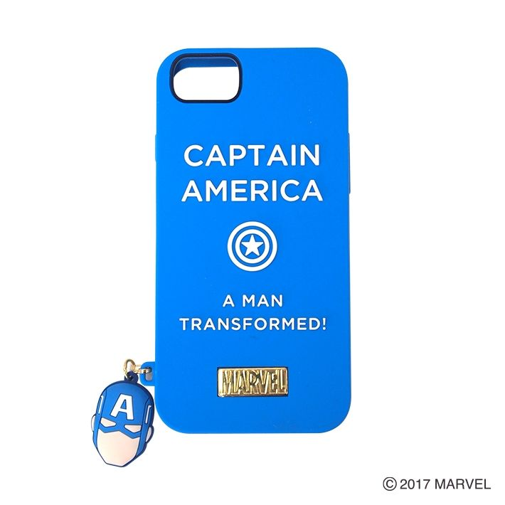 YOOY シリコンケース/シリコンチャーム CAPTAIN AMERICA iPhone 7/6s/6