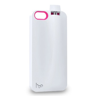 【iPhone SE/5s/5ケース】防犯用、スポーツ用に便利 ホイッスル付きケース ホワイト iPhone 5ケース_0