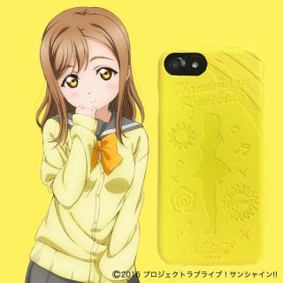 ラブライブ!サンシャイン!! レザーケース for iPhone 8 / 7 / 6s / 6 国木田 花丸 ver