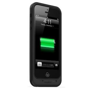 薄型バッテリー内蔵ケース mophie juice pack air  iPhone SE/5s/5 ブラック