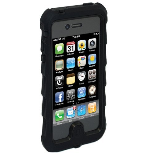 iPhone SE/5s/5 ケース Gumdrop iPhone5対応ケース Drop Series ブラック/ ブラック DS5G-BLK-BLK_0
