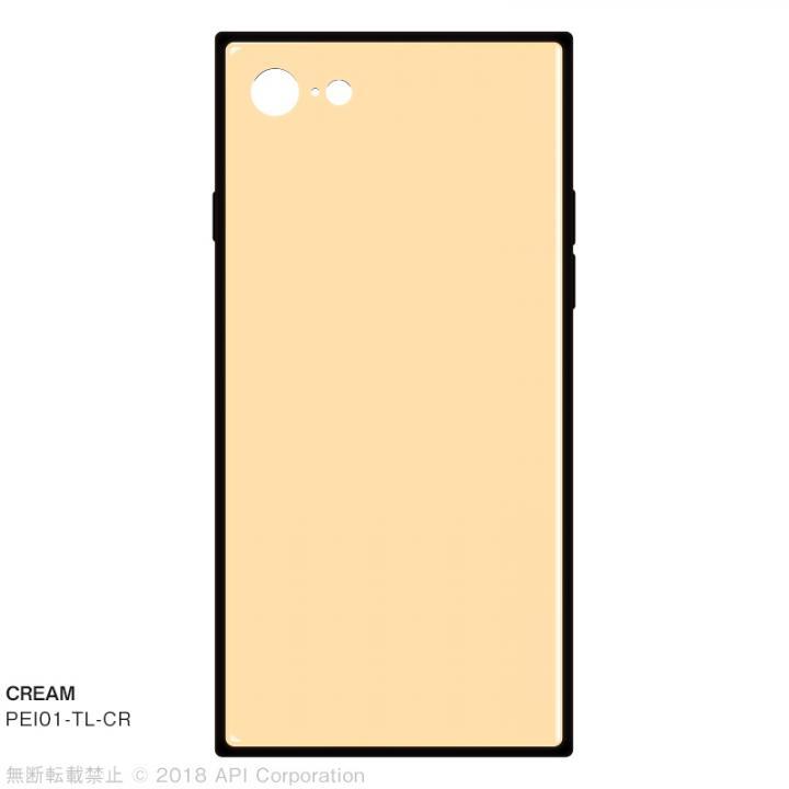 iPhone8/7 ケース EYLE TILE パステルカラー iPhoneケース クリーム iPhone SE 第2世代/8/7_0