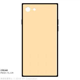 iPhone SE 第2世代 ケース EYLE TILE パステルカラー iPhoneケース クリーム iPhone SE 第2世代/8/7