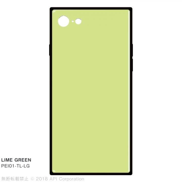 iPhone8/7 ケース EYLE TILE パステルカラー iPhoneケース ライムグリーン iPhone SE 第2世代/8/7_0
