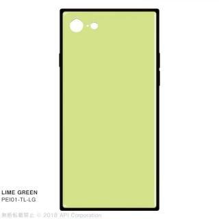 iPhone SE 第2世代 ケース EYLE TILE パステルカラー iPhoneケース ライムグリーン iPhone SE 第2世代/8/7