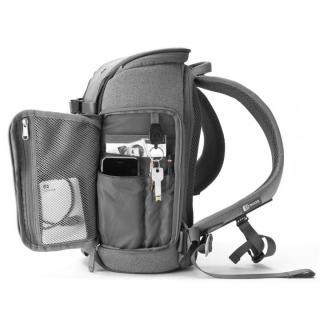 コンパクトサイズカメラ用バックパック booq Slimpack gray_5