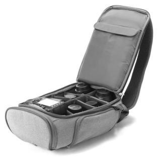 コンパクトサイズカメラ用バックパック booq Slimpack gray_7