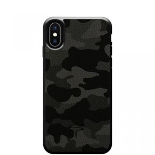 本革カモフラケース Camo グレー iPhone X