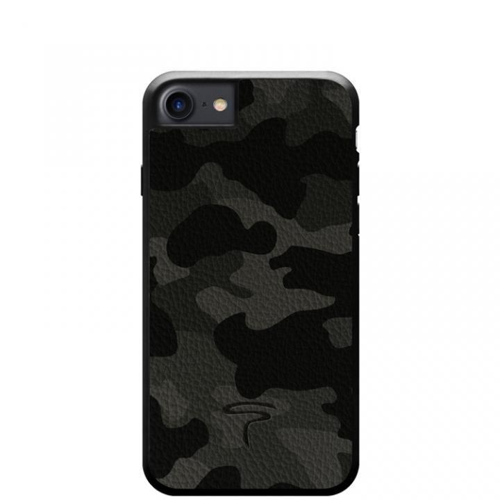 【iPhone8/7ケース】本革カモフラケース Camo グレー iPhone 8/7_0