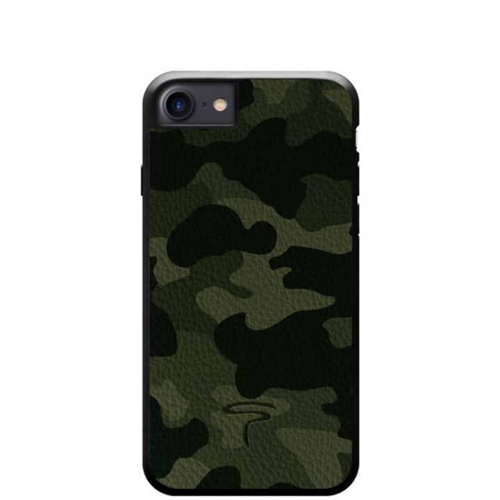 iPhone8/7 ケース 本革カモフラケース Camo グリーン iPhone 8/7_0