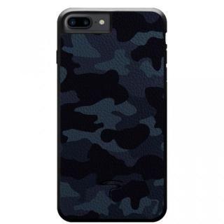 本革カモフラケース Camo ネイビー iPhone 8 Plus/7 Plus