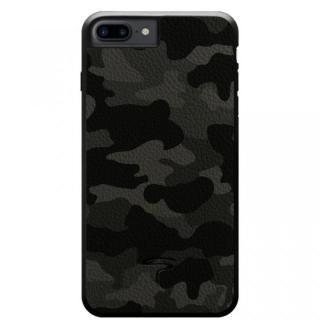 本革カモフラケース Camo グレー iPhone 8 Plus/7 Plus