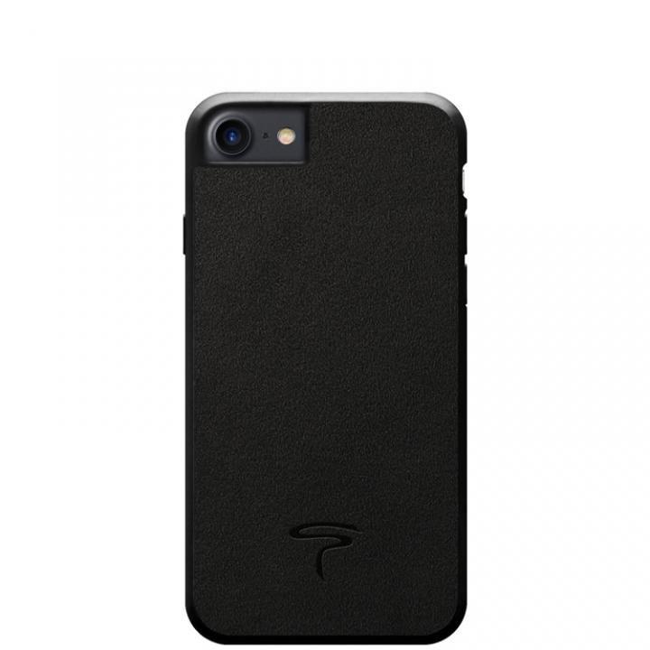 【iPhone8/7ケース】アルカンターラ Alcantara ケース ブラック iPhone 8/7_0