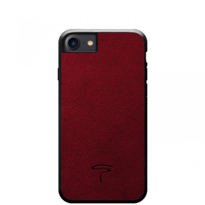 iPhone8/7 ケース アルカンターラ Alcantara ケース レッド iPhone 8/7_0