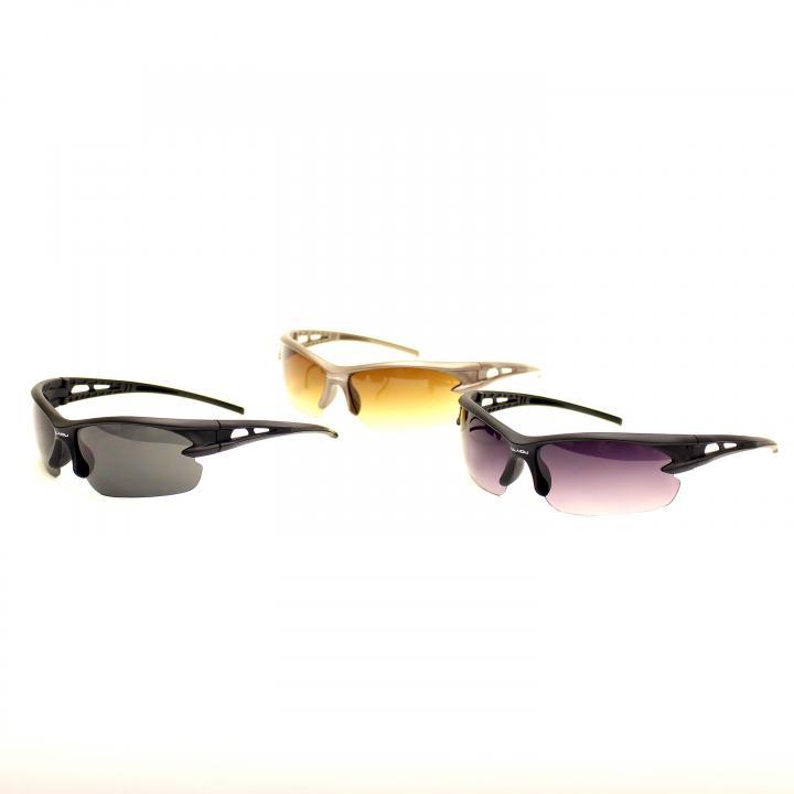 強い、軽い、防ぐ、3拍子揃ったサングラス3個セット!