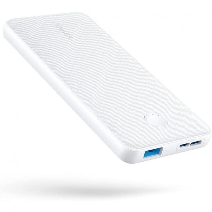Anker PowerCore Slim 10000 モバイルバッテリー ホワイト_0