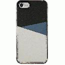 背面カードポケットケース @hand スラッシュ ネイビー iPhone 7 Plus【6月上旬】