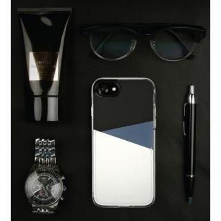 【iPhone7 Plusケース】背面カードポケットケース @hand スラッシュ イエロー iPhone 7 Plus_3
